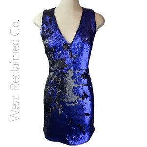 NWT 🆕 Sequin Open Back Mini Cocktail Dress